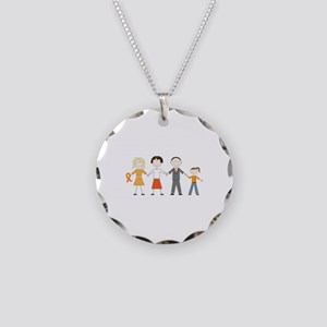 Multiple Sclerosis Figures Necklace