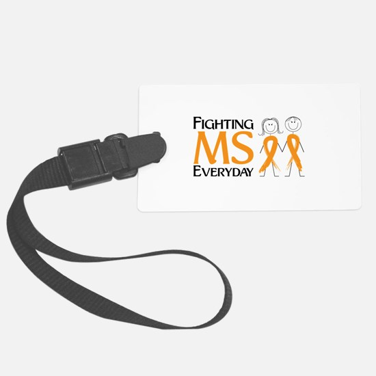 Fighting MS Everyday Luggage Tag