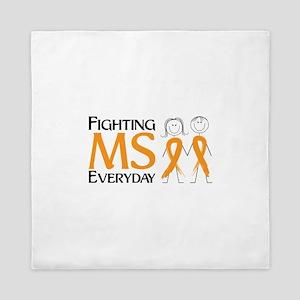 Fighting MS Everyday Queen Duvet