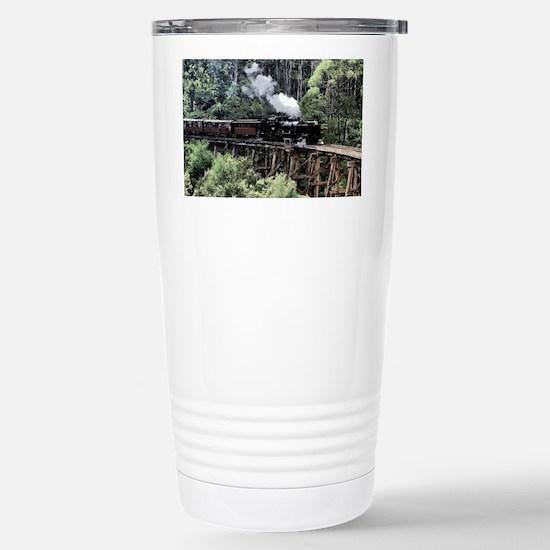 Old Narrow Gauge Steam  Stainless Steel Travel Mug