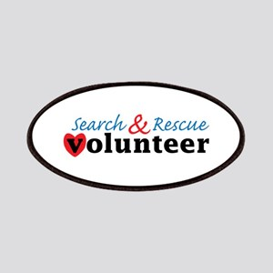 Search Rescue volunteer Patches