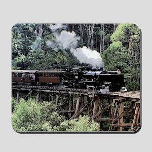 Heritage Narrow Gauge Steam Railway Tres Mousepad