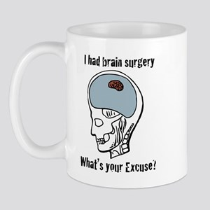 I had brain surgery what's yo Mug