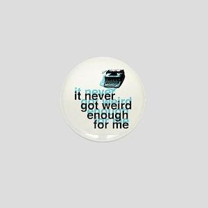 Hunter S Thompson Quote Mini Button