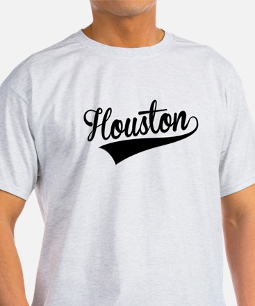 Houston, Retro, T-Shirt