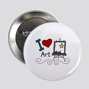 "I Love Art 2.25"" Button"