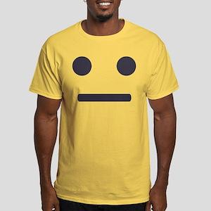 Straight Emoji Face T-Shirt