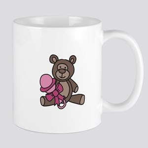 Bear With Rattle Mugs