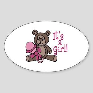 Its A Girl Sticker