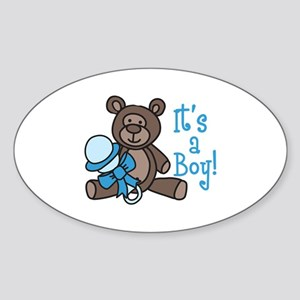 Its A Boy Sticker