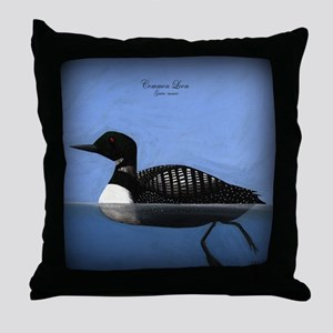 Common Loon Throw Pillow