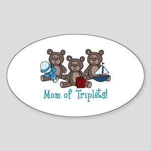 Mom Of Triplets! Sticker
