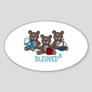 Blessed 3 Sticker