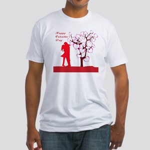 valentine Fitted T-Shirt