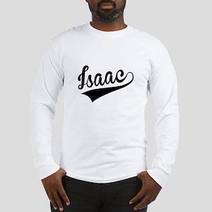 Isaac, Retro, Long Sleeve T-Shirt