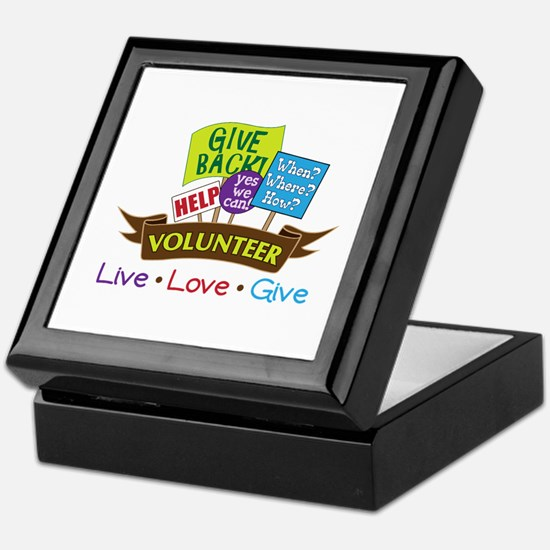 Live.Love.Give Keepsake Box