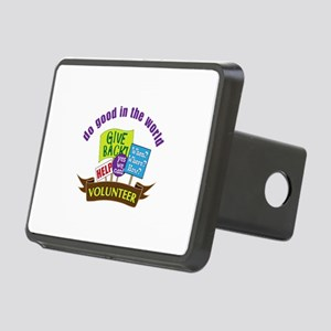 do good in the world Hitch Cover