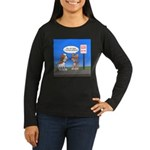 Littering Fine Women's Long Sleeve Dark T-Shirt