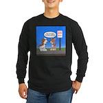 Littering Fine Long Sleeve Dark T-Shirt