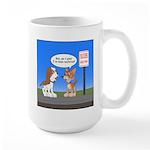 Littering Fine Large Mug