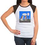Littering Fine Women's Cap Sleeve T-Shirt
