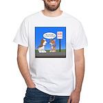 Littering Fine White T-Shirt