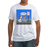 Littering Fine Fitted T-Shirt