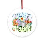 Plant a Garden Ornament (Round)