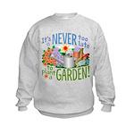 Plant a Garden Kids Sweatshirt