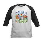 Plant a Garden Kids Baseball Jersey