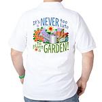 Plant a Garden Golf Shirt