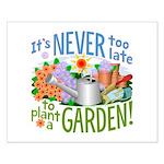 Plant a Garden Small Poster