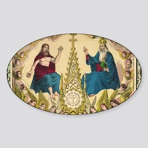 Holy Roman Catholic Faith Sticker