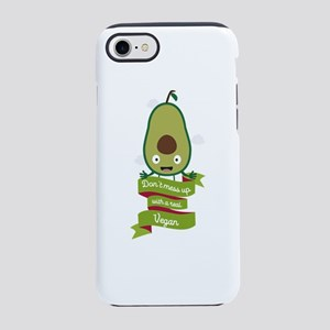 Dont mess up with a vegan iPhone 7 Tough Case