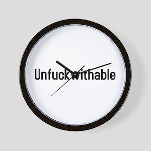 unfuckwithable Wall Clock