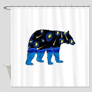 BEAR SKY Shower Curtain