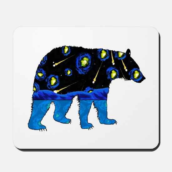 BEAR SKY Mousepad