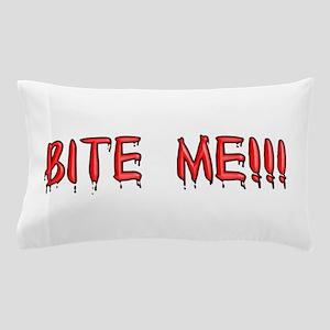 bite_me Pillow Case