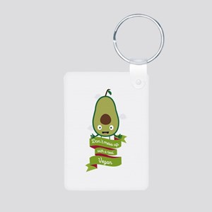 Dont mess up with a vegan Keychains