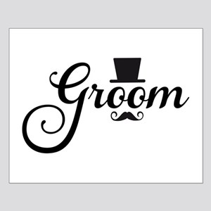 Groom with hat and mustache Posters