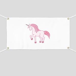 Pink Unicorn Banner