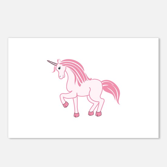 Pink Unicorn Postcards (Package of 8)