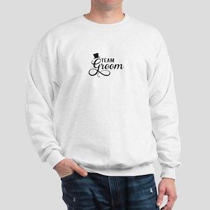 Team Groom with hat Sweatshirt