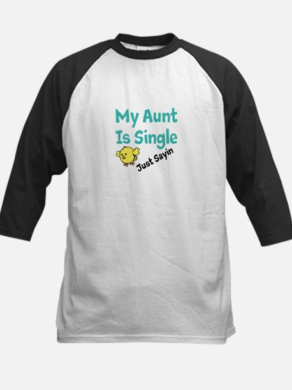 Single Aunt Baseball Jersey