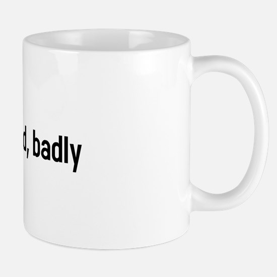 wizard needs food, badly Mug