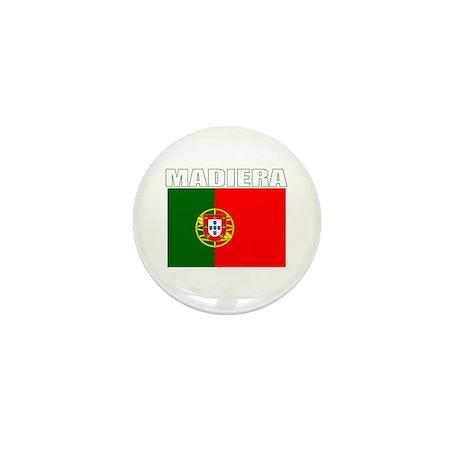 Madiera, Portugal Mini Button