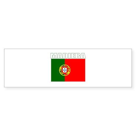 Madiera, Portugal Bumper Sticker