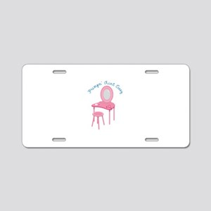 Princess Vanity Aluminum License Plate