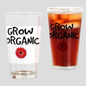 Grow Organic Drinking Glass