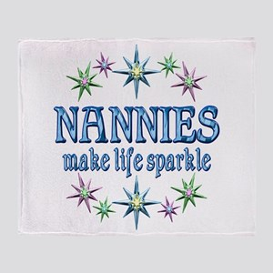 Nannies Sparkle Throw Blanket